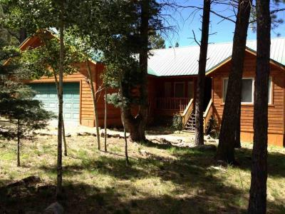 Equestrian Property, 1,041 sq. ft. barn with 2 horse stalls, tack room, electricity, frost-free faucets nearby, 200sq. ft. loafing shed, round pen, corrals.  272 sq. ft. back deck - with incredible views of Wheeler Peak Wilderness area